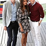 Alicia wore a printed day dress when posing alongside The Danish Girl director Tom Hooper and costar Eddie Redmayne at the Venice Film Festival.
