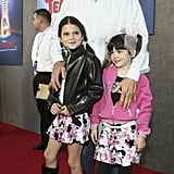 Then: Kendall made her red carpet debut alongside her sister Kylie. Even back then, Kendall knew the power of a leather jacket.