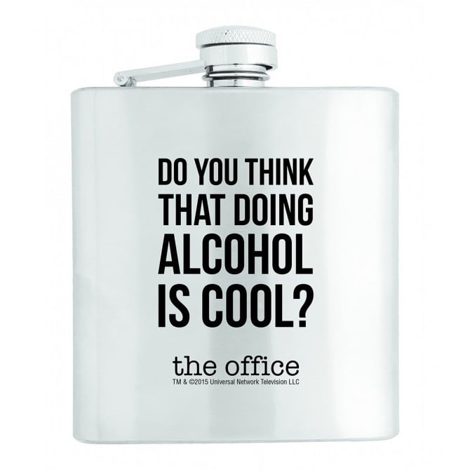 Stainless Steel Flask ($30)