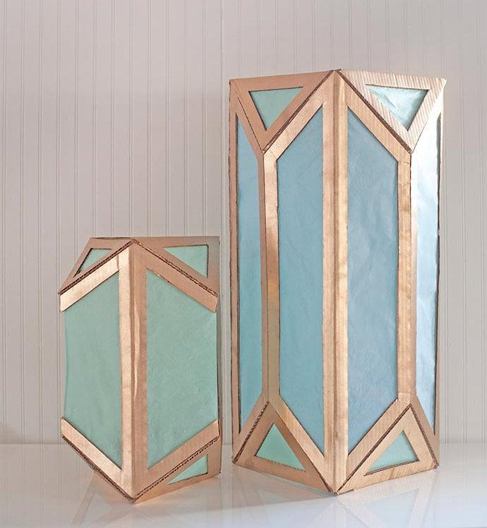 Cardboard Lanterns