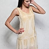 Rock My Vintage Cream Art Deco Flapper Dress (£68)