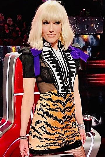 Photos of Gwen Stefani's Bob Haircut and Fringe