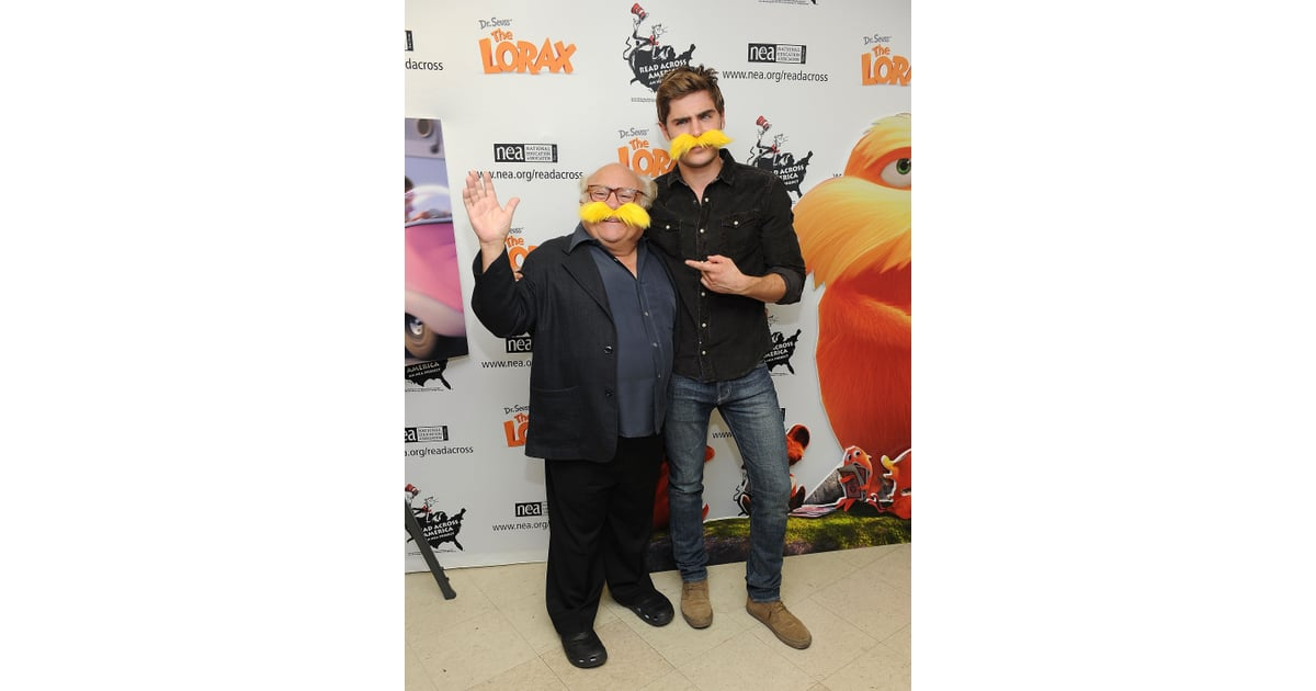 Zac Efron And Danny DeVito Got Playful With Yellow