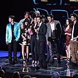 Anna Kendrick and the Rest of the Cast at the 2010 MTV Movie Awards