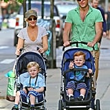 The Family That Strolls Together . . .