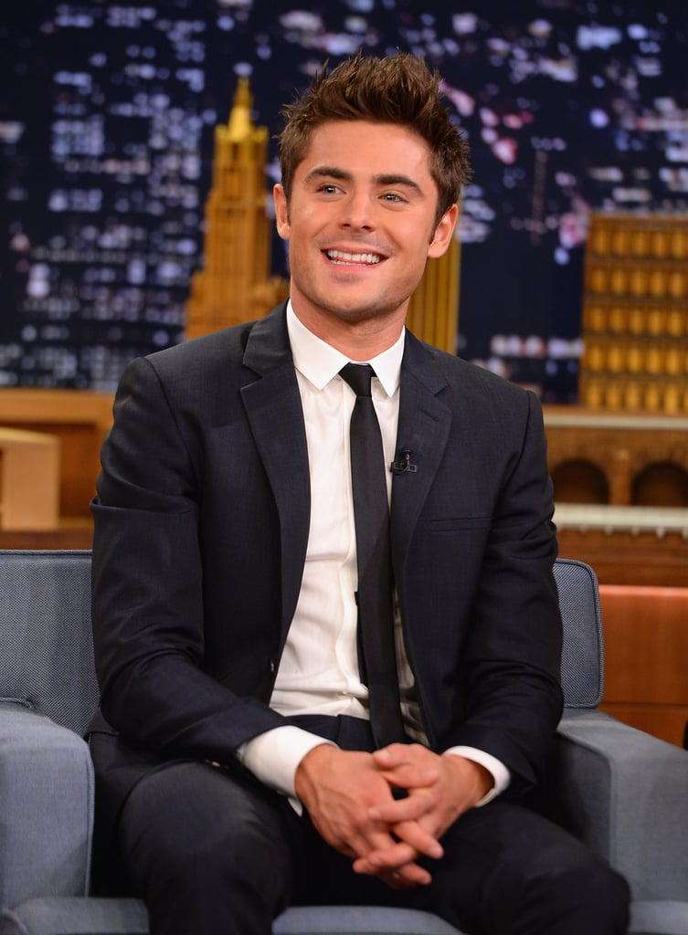 Just accept that Zac's beautiful in a way that can't be ignored.