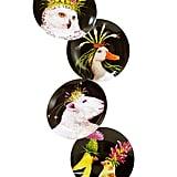 Vicki Sawyer Wild & Wooly Appetizer Plates