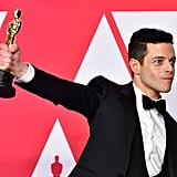Best Rami Malek Moments at the 2019 Oscars