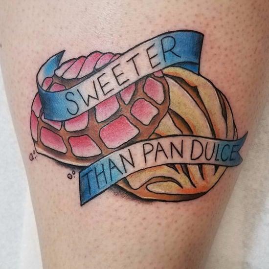 Pan Dulce Concha Tattoos