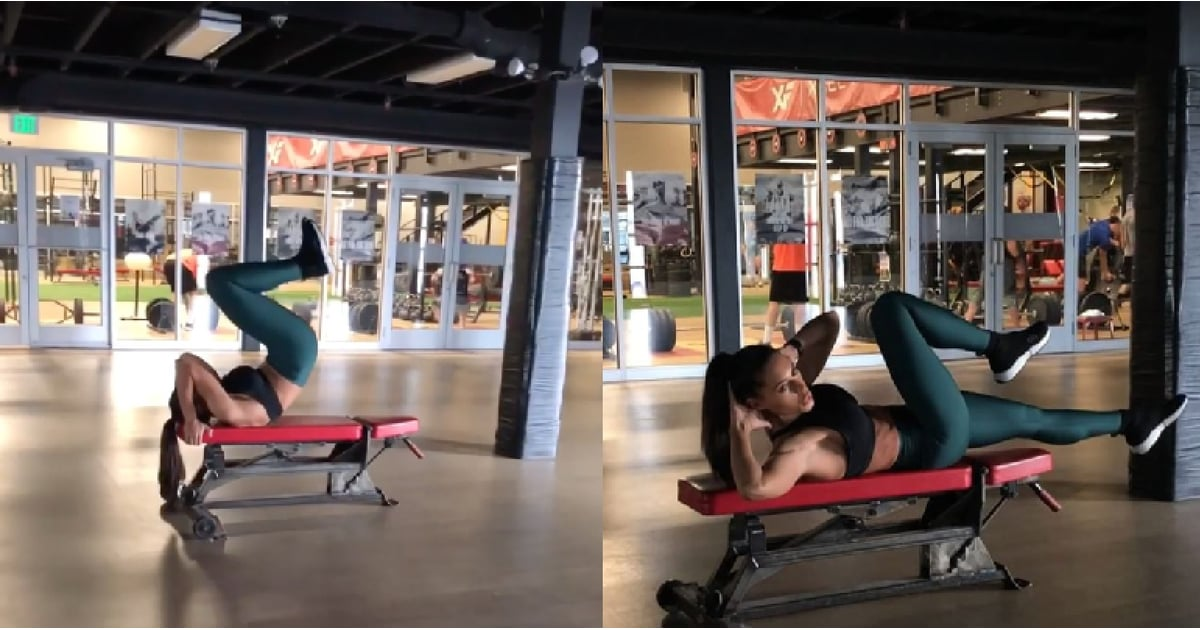 All You Need Is a Bench to Do This Trainer's 4-Move Core-Strengthening Workout