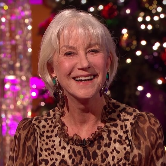Helen Mirren on The Graham Norton Show December 2016