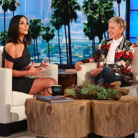 Kim Kardashian Talks About Robbery on Ellen 2017