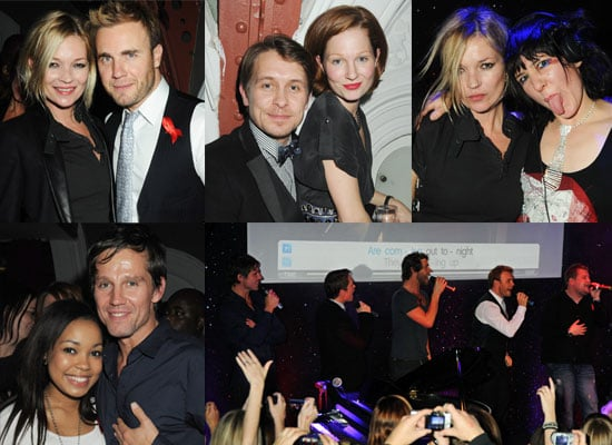 Gallery of Photos of Kate Moss, James Corden and Take That at Their Singstar Launch Party