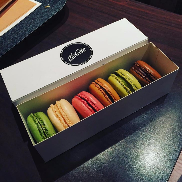Mcdonald S Macarons In France Popsugar Food
