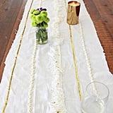 DIY Table Runner