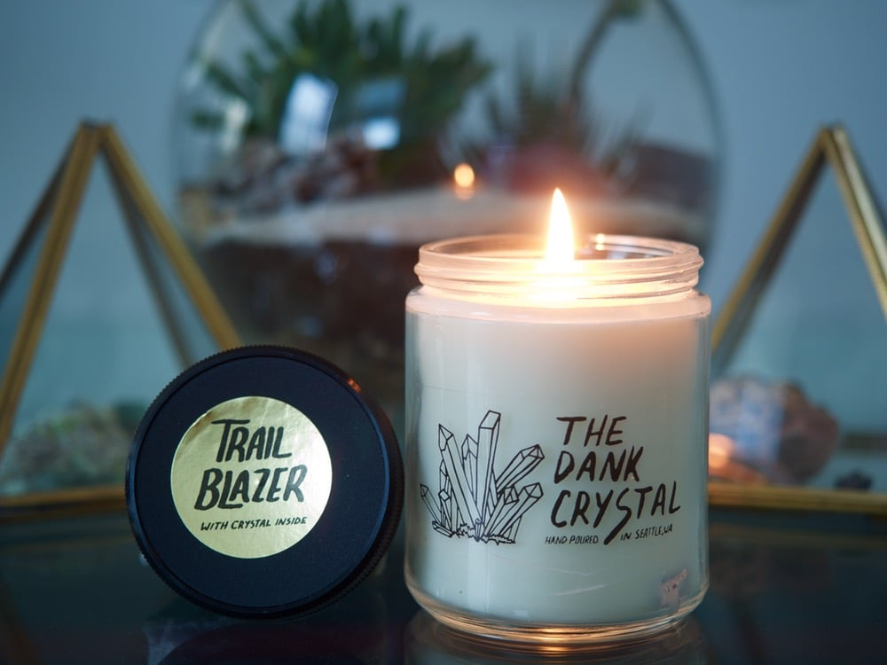 Rosemary and Coconut Trailblazer Candle ($14)