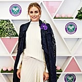 Olivia Palermo at Day 12 of Wimbledon