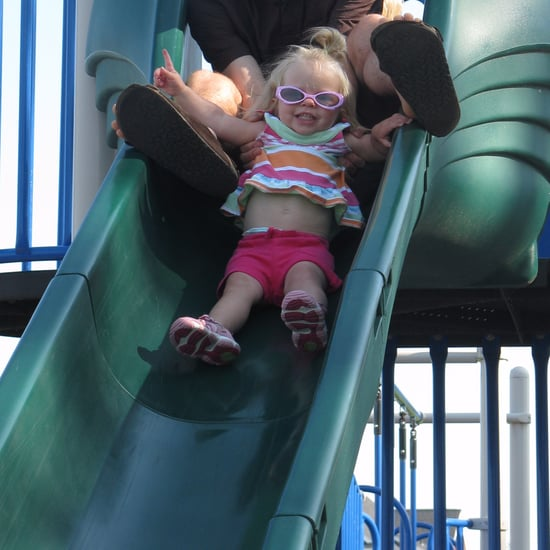 Toddler Burned on Plastic Slide