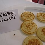 French Cocktail Blinis