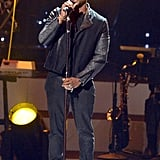 "Usher performed at the ""We Will Always Love You"" show in LA."