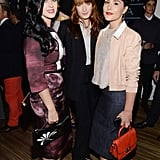 Florence Welch chatted with Katy Perry and Jessie Ware.