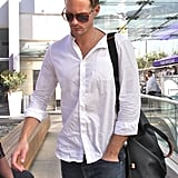 Working Out Does a Body Good For Alexander Skarsgard