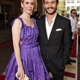 Hugh Dancy and Sarah Paulson at Martha Marcy May Marlene screening.
