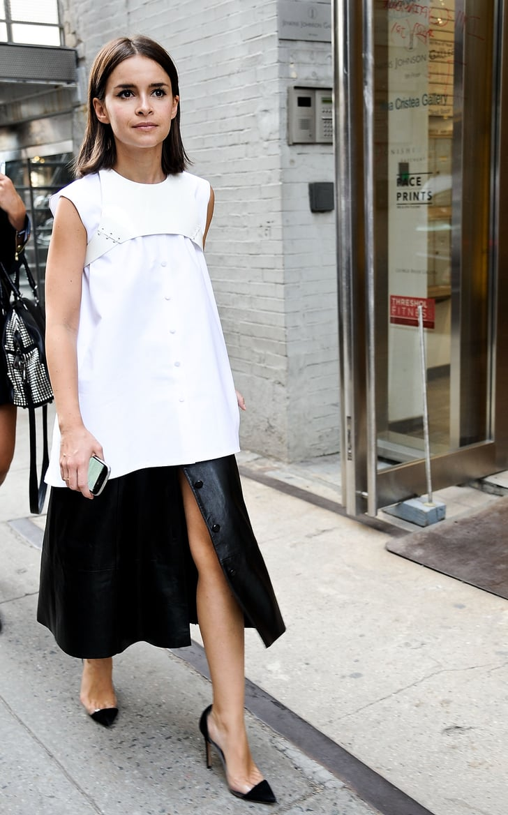 Boxy Proportions Made Miroslava Duma S Black And White