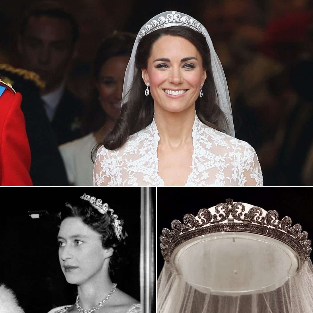 The Halo Tiara | The Real History Behind Kate Middleton's ...