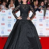 Catherine Tyldesley at the National Television Awards in January 2014