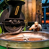 You Can Get Up Close With the Roasting Equipment