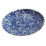 Speckled Navy Melamine Platter