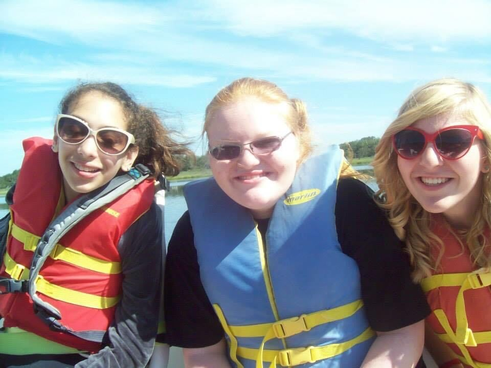 Sailing with Morgan and Liane
