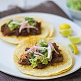 Brisket Tacos With Pickled Onions
