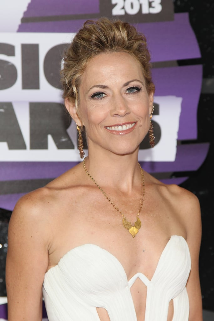 If You Have Curly Hair Take Note Of Sheryl Crows Look Celebrity
