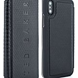Ted Baker London Bhait Faux Leather iPhone X & Xs Folio Case