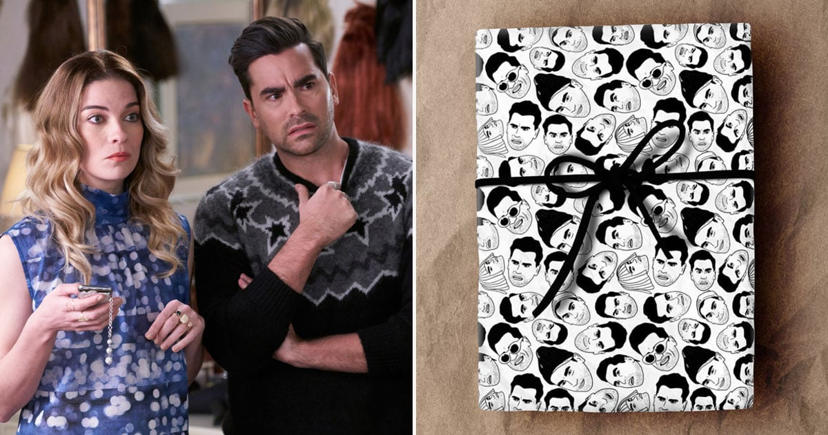 Give People Your Warmest Regards This Holiday Season by Using This Schitt's Creek Wrapping Paper