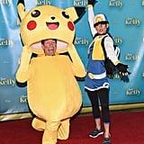 Kelly Ripa as a Pokémon Trainer