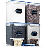 Airtight Plastic Food Storage Containers