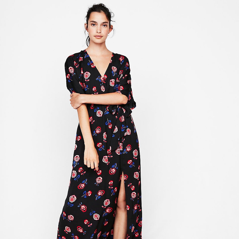 789b95640c2d Eloquii Circle-Sleeve Fit and Flare Dress | Best Travel Dresses | POPSUGAR  Fashion UK Photo 6