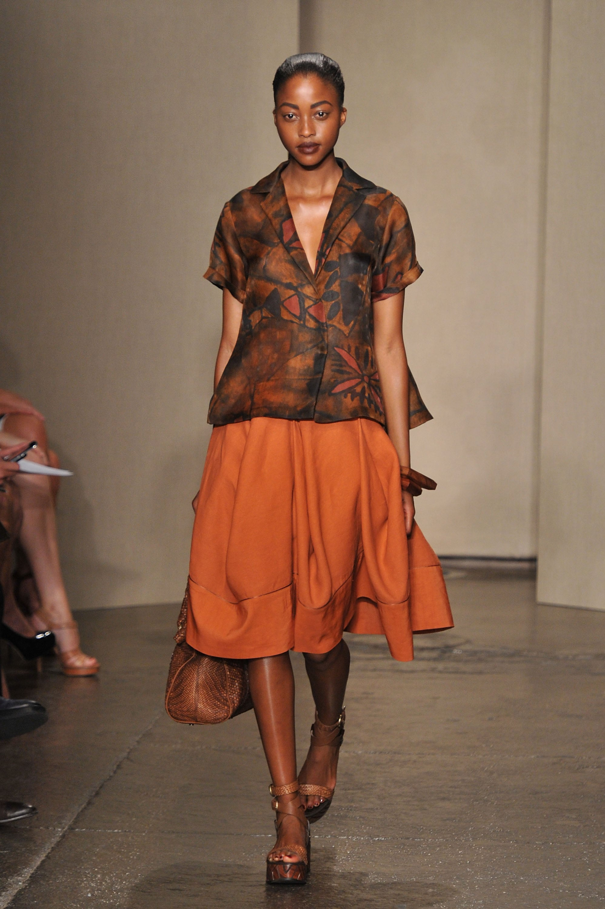 Review And Pictures Of Donna Karan Runway Show At 2012