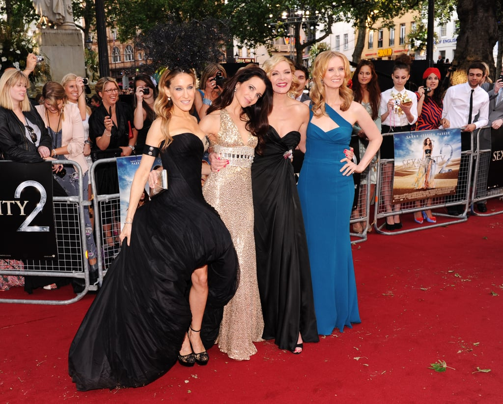 London premiere sex and the city