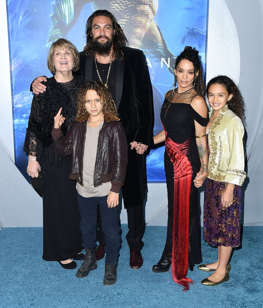 Jason Momoa Takes A Stroll With His Kids: Jason Momoa Doing The Haka With His Kids At The Aquaman