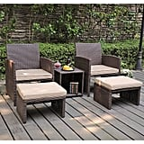 Rand 5 Piece Seating Group With Cushions