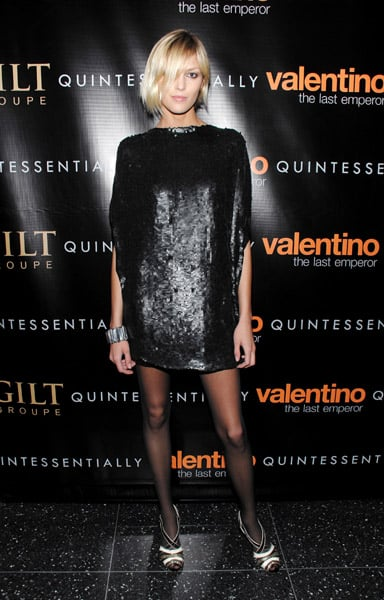 The Emperor Valentino Reigns at New York Premiere