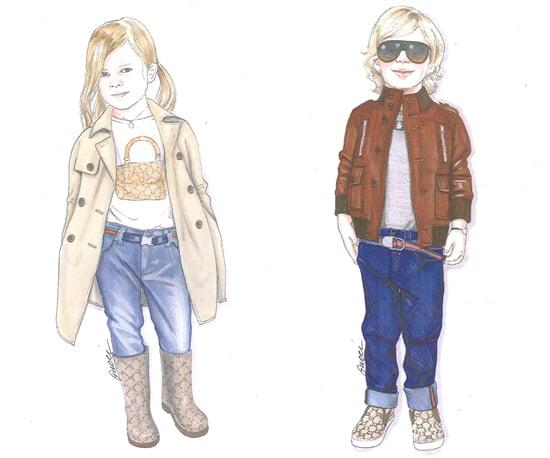 Kids Go Ga Ga For Gucci's Children's Line!