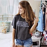 Eleanor and Park Quote T-Shirt ($22)