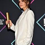 Victoria Beckham People's Choice Awards Speech 2018