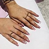 Millie Bobby Brown's Purple Gradient Nail Art In August 2019