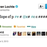 Ryan Lochte Tweets Nonsense